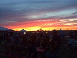 Sunset Sept 9